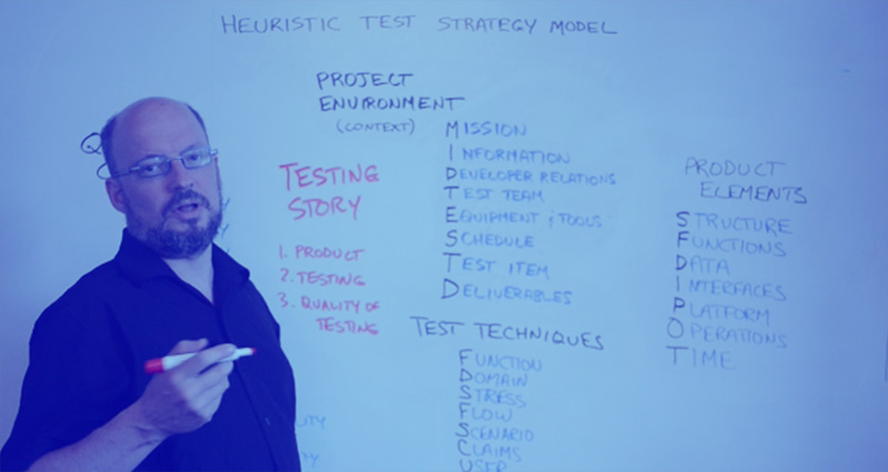 Michael Bolton teaches Rapid Software Testing